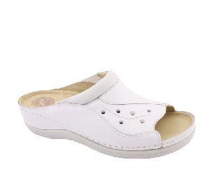 KOPITARNA Munkavédelmi női zárt cipő fehér 1481