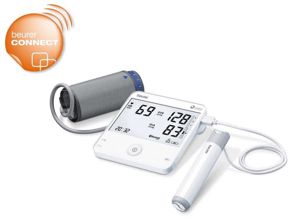 Beurer BM 95 BT EKG / ECG Felkaros vérnyomásmérő - Medicalhelp